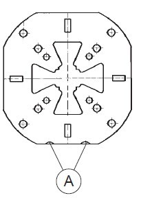 ER-011599 er-050195 erowa定位片100 m8 (一套10组)