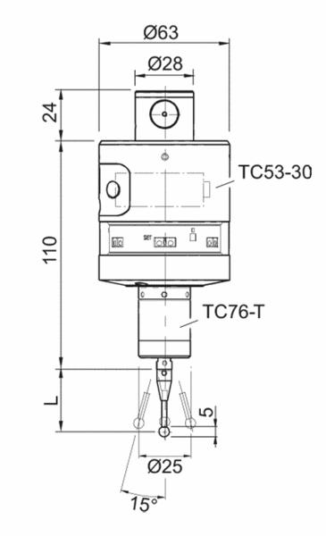 波龙(BLUM) tc53测头
