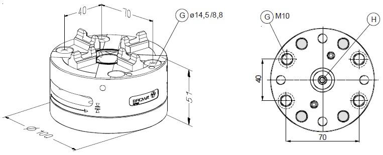 ER-022511 EROWA快速卡盘100 Combi