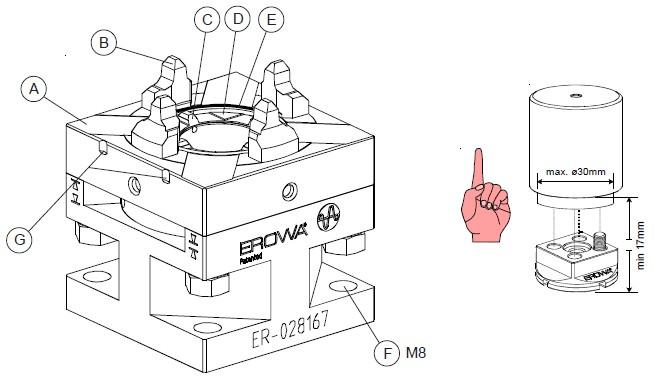 ER-028167 EROWA快速卡盘50 Combi