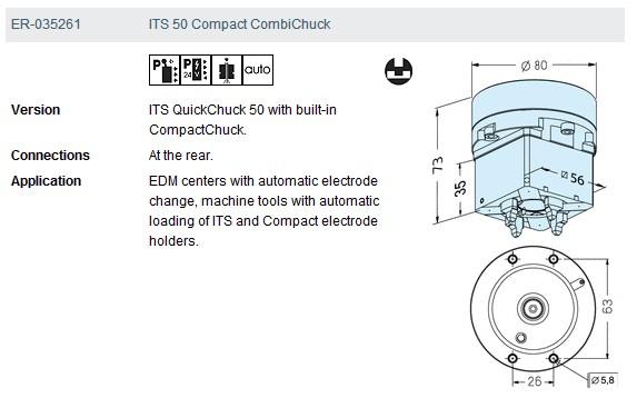 ER-035261 its50compact combi卡盘应用