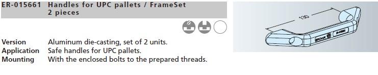 EROWA夹具ER-015661UPC托板/FrameSet手柄