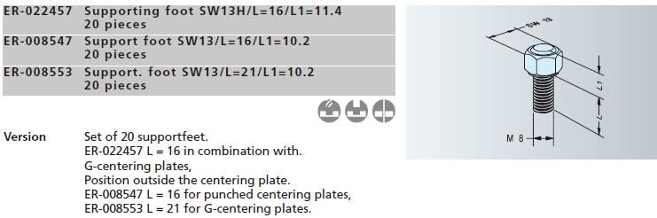 ER-008553支撑脚