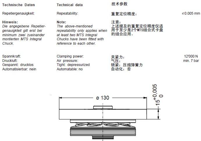 ER-033400 mts组合式卡盘 m-p