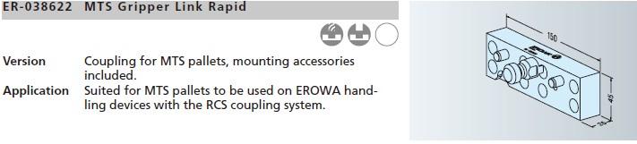 ER-038622 MTS握爪柄Rapid