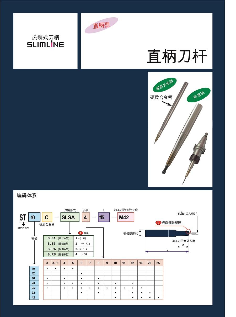 标准型-日本MST热缩直柄刀杵
