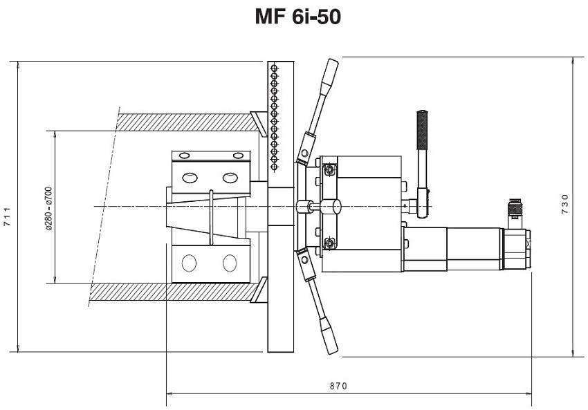 德国DWT坡口机MF6i-50