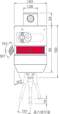 波龙(BLUM) tc50测头