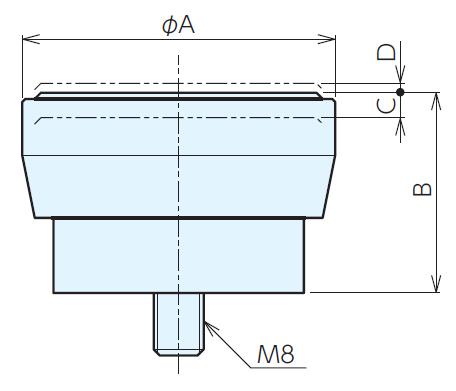 磁性工件支撑座