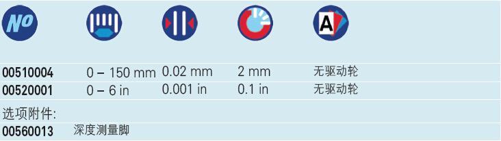 瑞士TESA CCMA-P型 带表卡尺