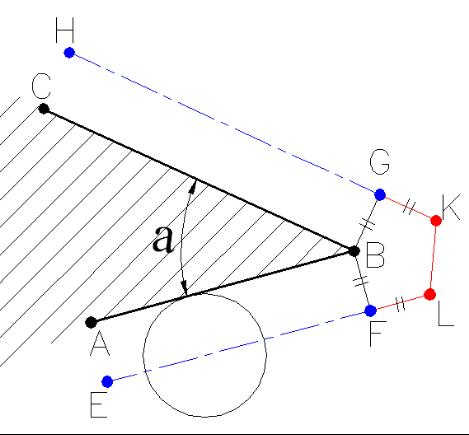 刀具中心轨迹短于编程轨迹拔出产型的度过渡方法