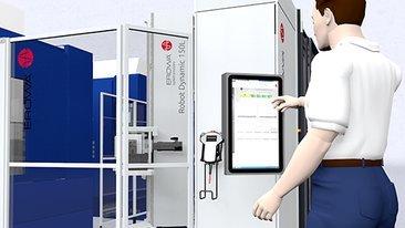 ER-100000 装载机器人 EROWA Robot Dynamic 150L控制更简单