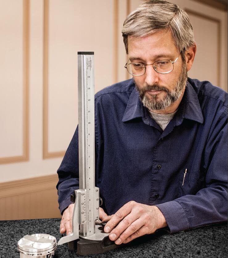 施泰力/Starrett 3751系列电子高度规(不带输出功能)0-6″/150mm