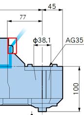 角度头组合式+圆盘铣刀加工航空部件案例