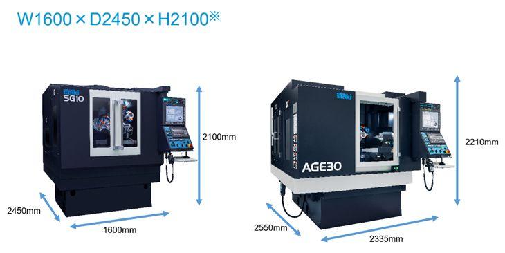 牧野精机推出新产品磨床SG10