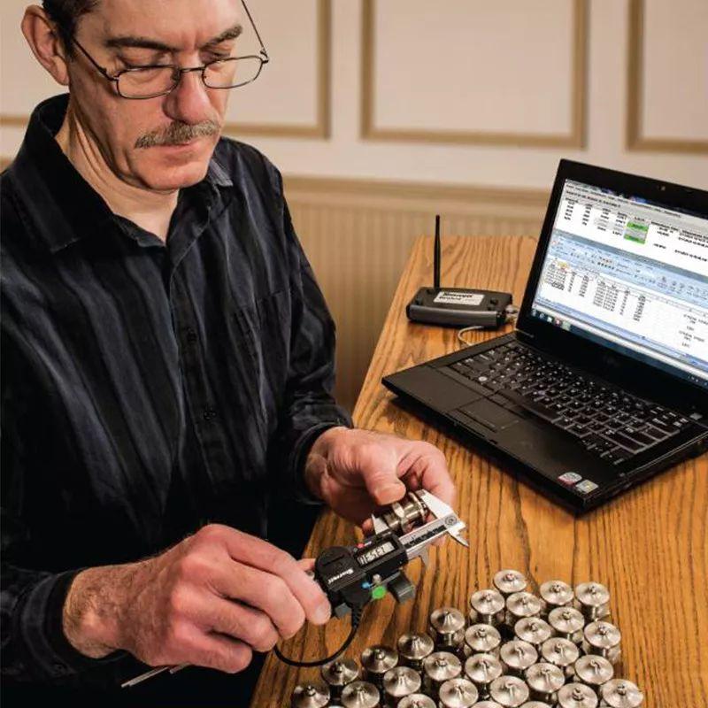 施泰力Starrett无线测量数据采集系统使用案例