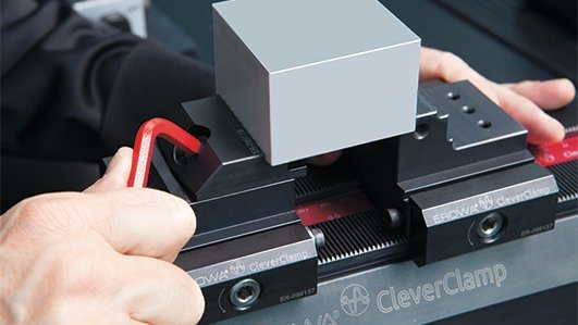 EROWA CleverClamp系统巧妙的夹紧