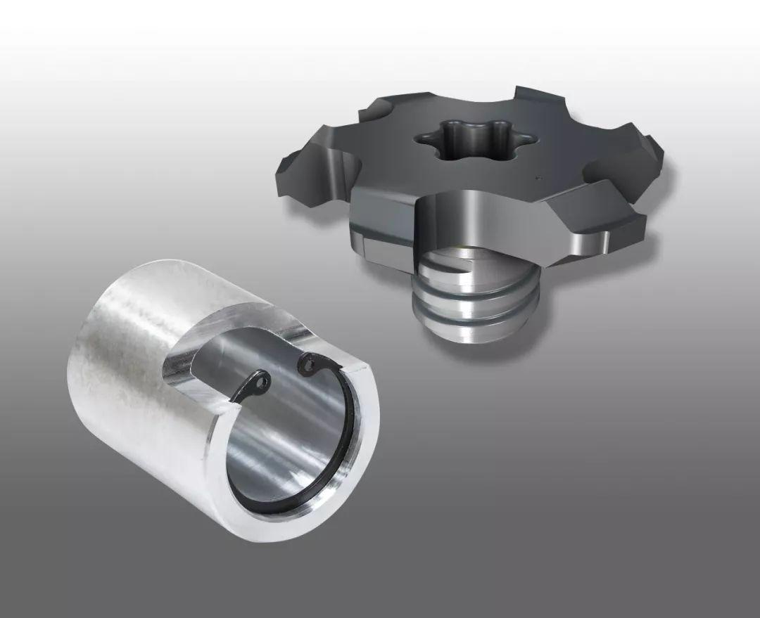 伊斯卡推出加工弹性挡圈内槽的变形金刚刀头
