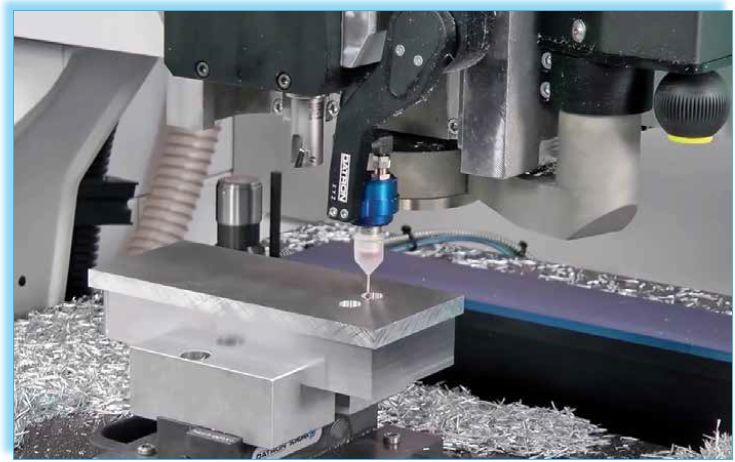 微型刀具实现高速加工