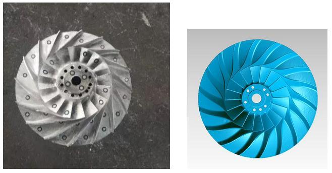 三维扫描仪应用于工业叶片质量检测