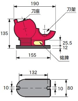 日本MST刀具紧固台