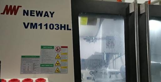 纽威数控装备高端口罩机模具加工案例分享
