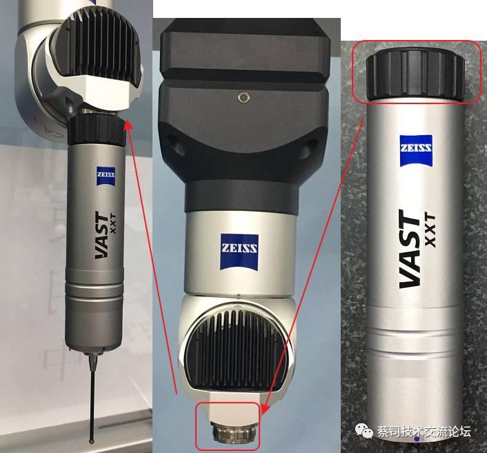 蔡司三坐标Calypso应用之VAST XXT传感器校准SDO错误解决方法