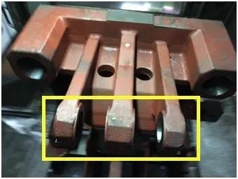 BIG斯玛特防振精镗头加工注塑机模块案例