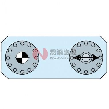 ER-041460 MTS夹紧拉钉套装2件套