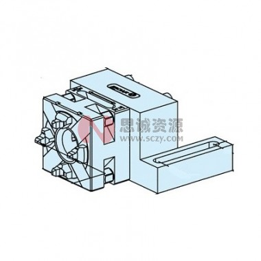 ER-022584快速卡盘50 RSM/UnoSet 连过渡板R=100mm