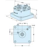 ER-043124 EROWA ITS卡盘100P 防锈型,102×102