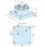 ER-047743 EROWA ITS卡盘100P 防锈型,118×118
