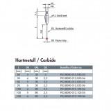 波龙(BLUM)硬质合金杆红宝石探针(ForTC50/51) ECP03.8000-012.050.03