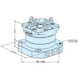 ER-020027 EROWA ITS 50 Compact Combi卡盘 连托板