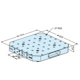 ER-022896 ER-022898 UPC托板 铝 压铸件S
