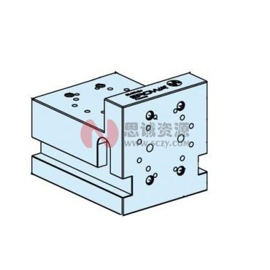 ER-019424 EROWA 直角座 用于快速卡盘100P