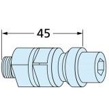 ER-015465 EROWA夹紧拉钉F/A EDM M10 X 45 带冲洗功能(一套20个)