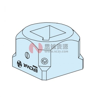 ER-010622 EROWA方形25夹头,前端部件