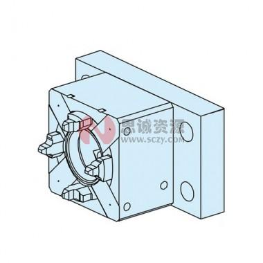 ER-008186 EROWA 卡盘50 RSA 带底板10×55.5×85