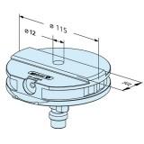 ER-032819 EROWA夹具校正托板Ф115mm