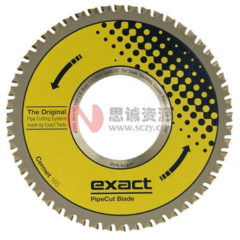 Exact Cermet165切管机锯片