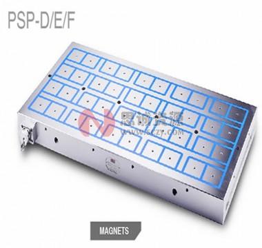 德国 伯瑞斯科(布里斯克)BRISC-标准密度方形磁极电永磁吸盘PSP-D/E/F