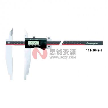 桂林广陆双外爪数显卡尺111-304Z-1
