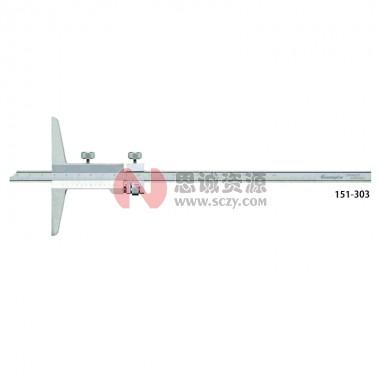 桂林广陆微调装置游标深度尺151-303