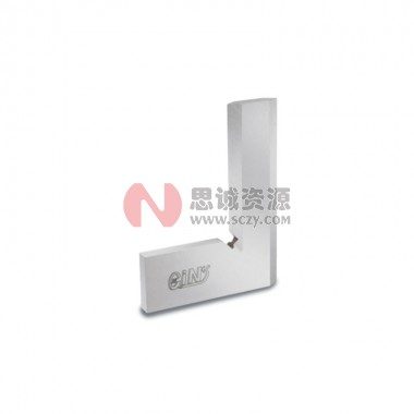 GIN精展精密双刃口直角尺(不锈钢)55030/HT