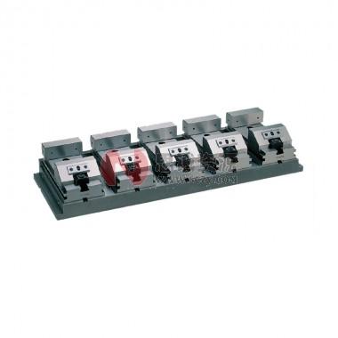 ERON-NABEYA雅朗楔锁式工具加工用平口钳(5联排型)