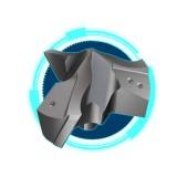 伊斯卡ISCAR 可替换式三刃钻头 直径12-25.9mm钻头