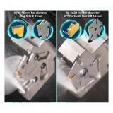伊斯卡ISCAR 五边形刀夹、5个定位槽切槽刀