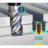 伊斯卡ISCAR 可换头式硬质合金立铣刀 长切削刃,长径比1.5xD 长切削刃铣刀头王牌