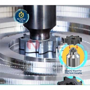 伊斯卡ISCARA  可换式硬质合金刀头 直径范围32-50mm 面铣刀